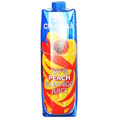 Chabaa 100% Peach & Mango Juice 1L