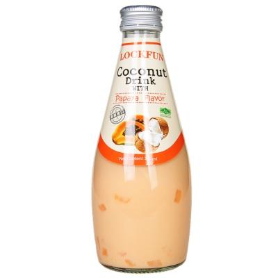 Lockfun Ppaya Flavored Coconut Drink 290ml