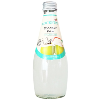 Lockfun Coconut Water(Contain Coconut Meat) 290ml