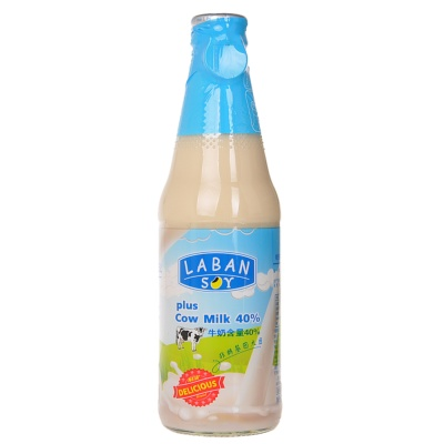Laban Soy Drink Plus Cow Milk 300ml