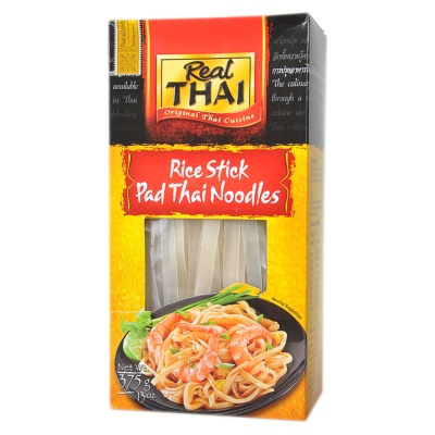 Real Thai Rice Stick Noodles 375g