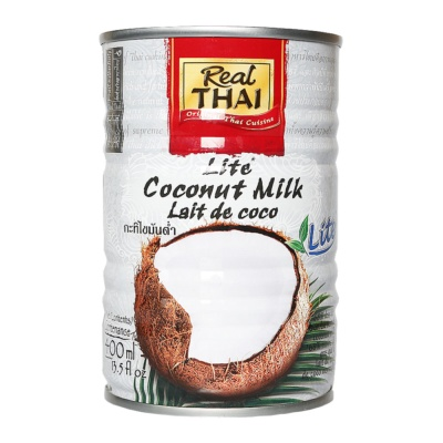 Real Thai Lite Coconut Milk 400ml