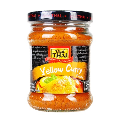 Real Thai Yellow Curry Paste 227g