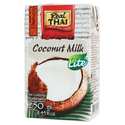 Real Thai Coconut Milk Lite UHT 250ml