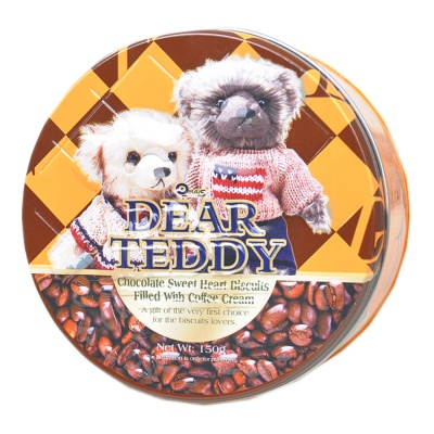 Omais Dear Teddy Chocolate Butter Cookies 150g