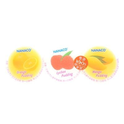 Nanaco Orange & Lychee & Mango Puddings 240g