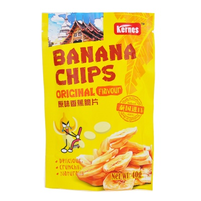 Kernes Original Flavour Banana Chips 40g