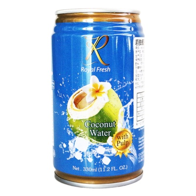Royal Fresh Coconut Water With Pulp 330ml