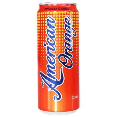 American Orange Carbonated Drink 325ml