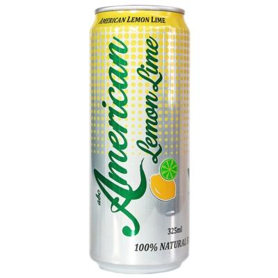 American Lemon Lime Carbonated Drink 325ml