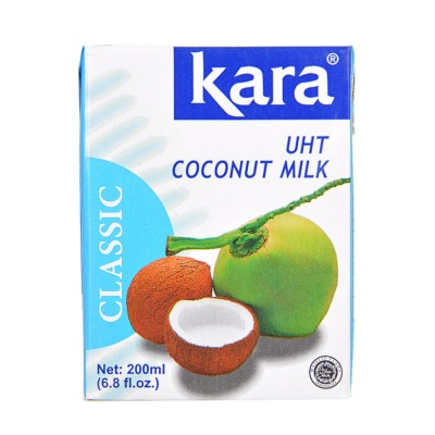 Kara UHT Natural Coconut Milk 200ml