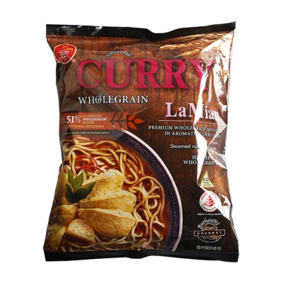 Prima Taste Curry Flavor Whole Wheat Ramen 178g