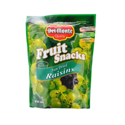 Delmonte Fruit Snacks Sun Dried Raisins 340g