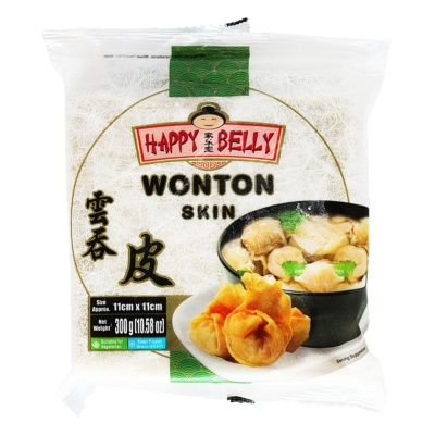Happy Belly Wonton Skin(11cmx11cm) 300g