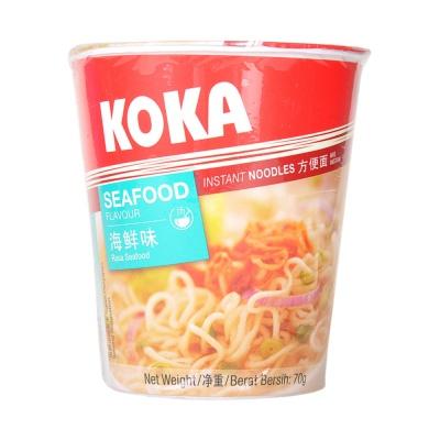 Koka Seafood Flavor Instant Noodles 70g