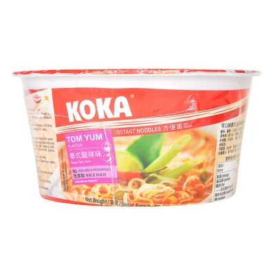 Koka Tom Yum Flavour Instant Noodles 90g