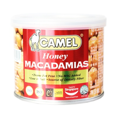 Camel Honey Macadamias 130g