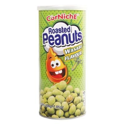 Corniche Wasabi Flavoured Roasted Peanuts 200g