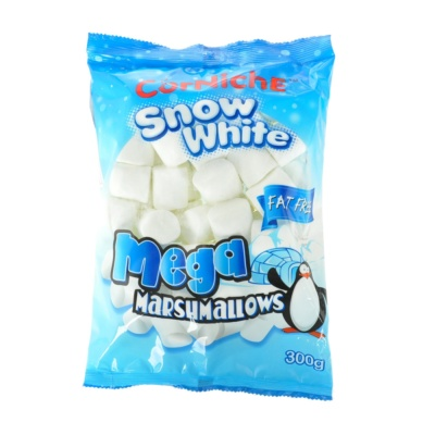 Corniche Snow White Marshmallows 300g