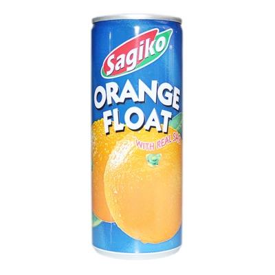 Sagiko Orange Drink With Real Sac 250ml