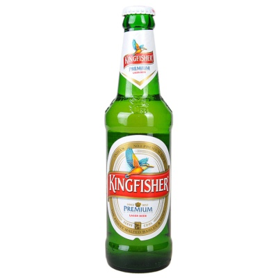Kingfisher Premium Lager Beer 330ml