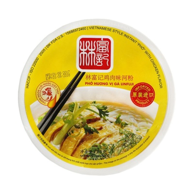 Linfuji Chicken Flavor Rice Noodle 76g