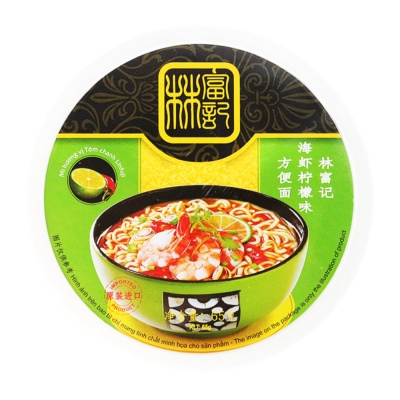 Linfuji Sea Shrimp Lemon Flavor Noodle 65g