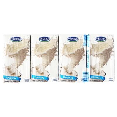 Vinamilk Original Milk UHT Beverage 4*110ml
