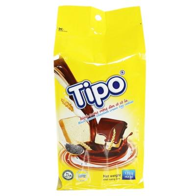 Tipo Black Sesame Chocolate Cream Egg Cookies 135g