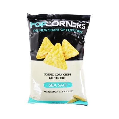 Popcorners Popped Whole Grain Chips, Sea Salt 142g