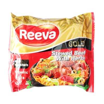 Reeva Stewed Beef With Herbs Noodles 75g
