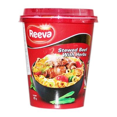 Reeva Stewed Beef With Herbs Noodles 65g