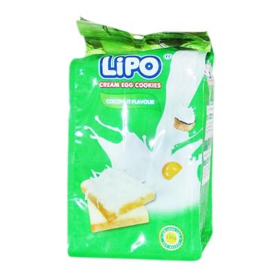 Lipo Cream Egg Cookies Coconut Flavour 135g