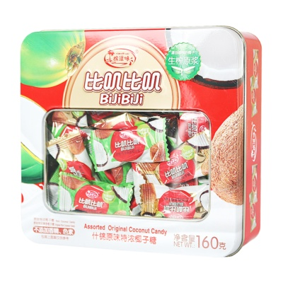Bijibiji Assorted Original Coconut Candy 160g