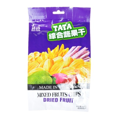 Tata Mixed Fruits Chips Dried Fruit 200g