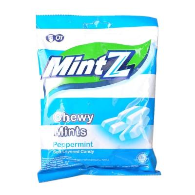 Mintz Peppermint Soft Layered Chewy Mints 125g