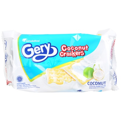 Gery Coconut Crackers 100g