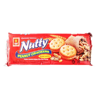 Nutty Peanut Crackers Biscuits 135g