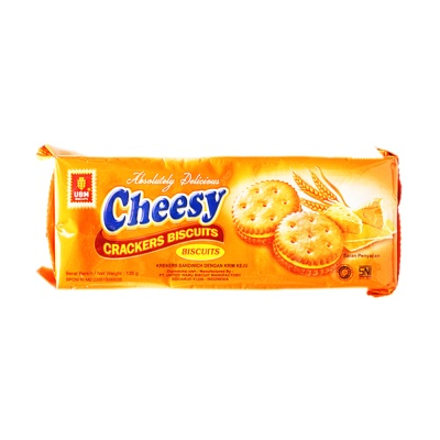 UBM Cheese-flavored Biscuits 135g