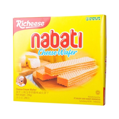 Richeese Nabati Cheese Wafer 290g