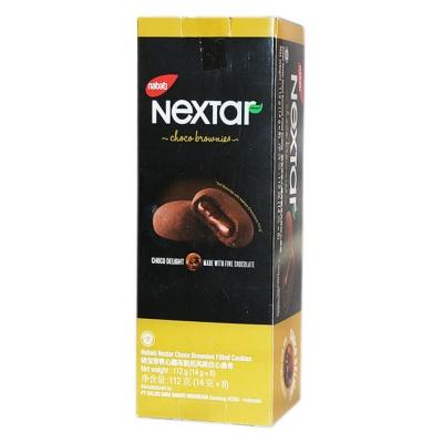 Nabati Nextar Choco Brownies Filled Cookies 112g