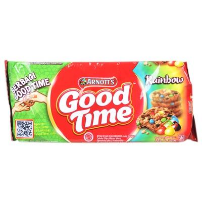 Arnott's Good Time Rainbow Chocolate Cookies 72g