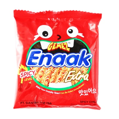Gemez Enaak Extra Noodles(Spicy Chili) 28g