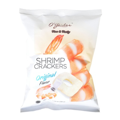 O'garlos Shrimp Crackers 30g