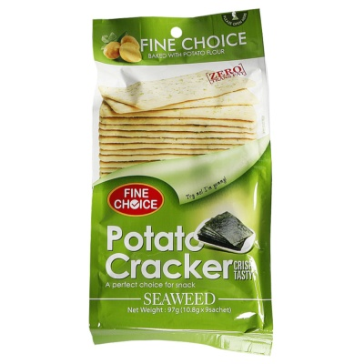 Fine choice potato cracker(seaweed) 97g