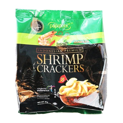 Papatonk Shrimp Crackers(Seaweed Flavor) 40g
