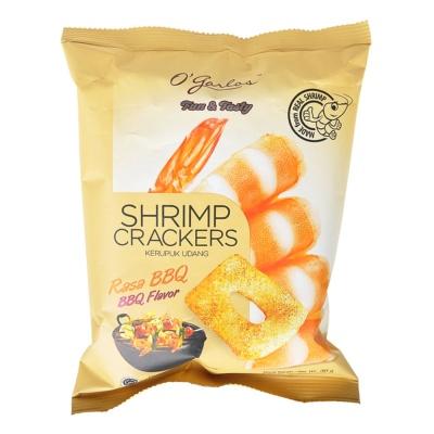 O'garlos Shrimp Crackers BBQ Flavor 30g