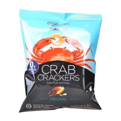 O'garlos Crab Crackers Original 30g