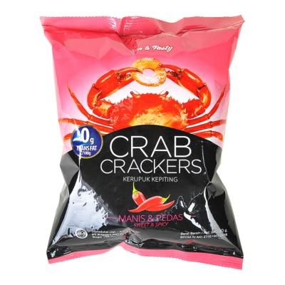 O'garlos Crab Crackers Sweet & Spicy 30g