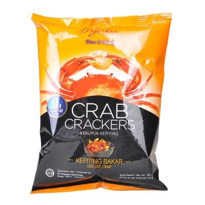 O'garlos Crab Crackers Kepiting Baker 30g